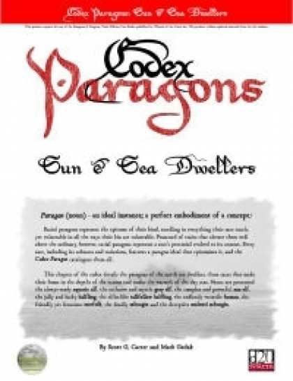 Role Playing Games - Codex Paragons: Sun & Sea Dwellers