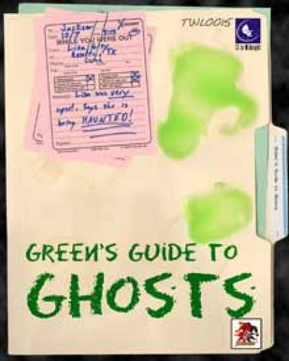 Role Playing Games - Green's Guide to Ghosts: Savaged edition