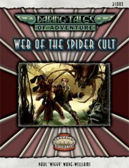 Role Playing Games - Daring Tales of Adventure #02 - Web of the Spider Cult