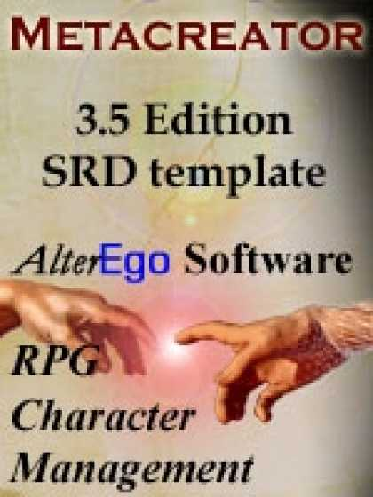 Role Playing Games - 3.5 Edition SRD Template