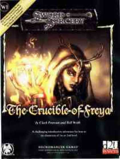 Role Playing Games - The Crucible of Freya