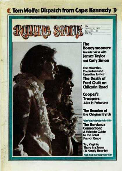 Rolling Stone - James Taylor & Carly Simon