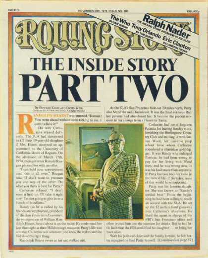 Rolling Stone - Patty Hearst Story - Part Two, The