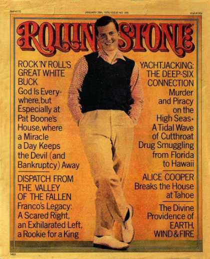 Rolling Stone - Pat Boone