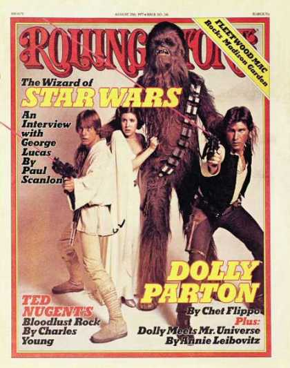 Rolling Stone - Cast of Star Wars