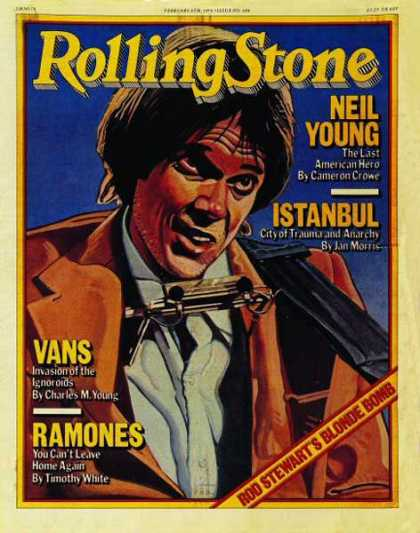 Rolling Stone - Neil Young (illustration)