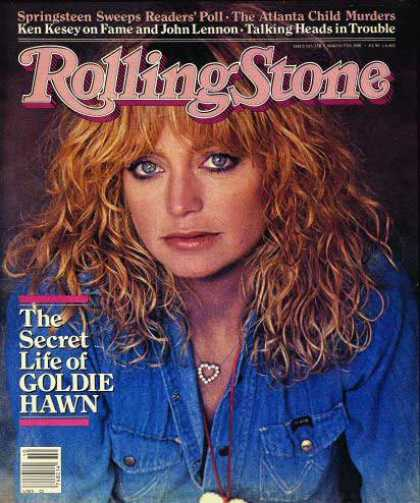 Rolling Stone - Goldie Hawn