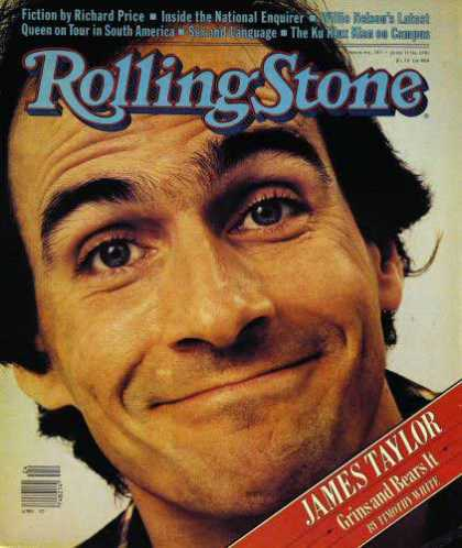 Rolling Stone - James Taylor