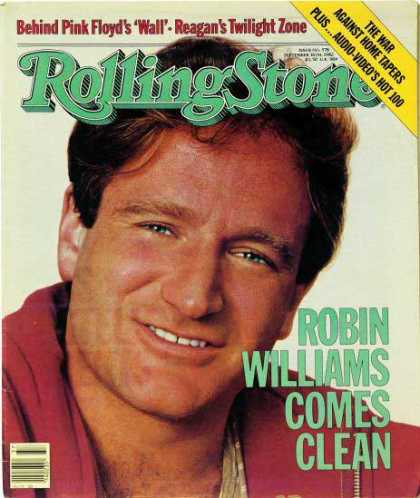Rolling Stone - Robin Williams