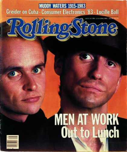 Rolling Stone - Men at Work
