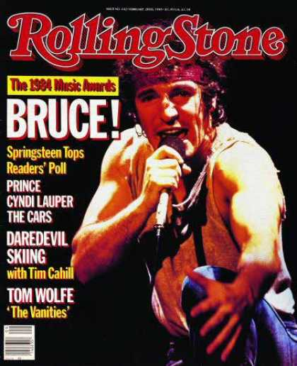 Rolling Stone - Bruce Springsteen