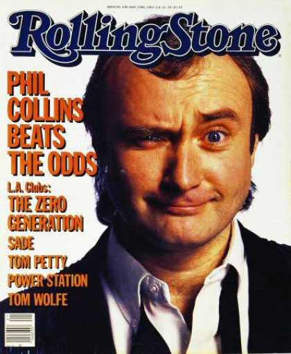 Rolling Stone - Phil Collins