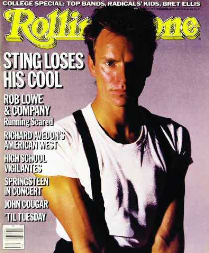 Rolling Stone - Sting