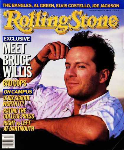 Rolling Stone - Bruce Willis