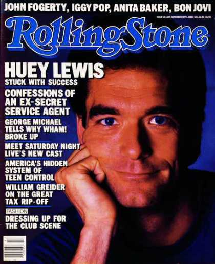 Rolling Stone - Huey Lewis