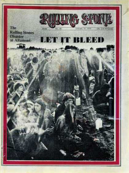 Rolling Stone - Altamont