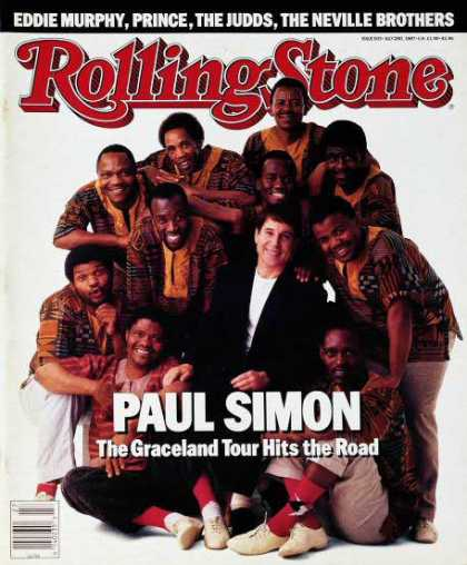 Rolling Stone - Paul Simon & Ladysmith Black Mambazo