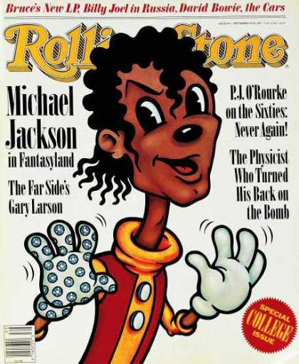 Rolling Stone - Michael Jackson (illustration)