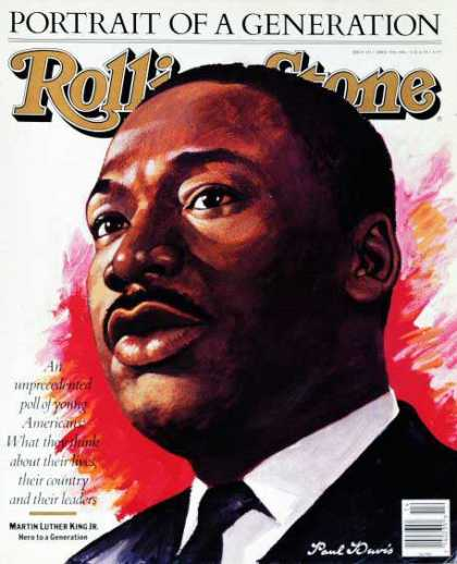 Rolling Stone - Martin Luther King (illustration)
