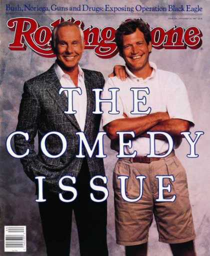Rolling Stone - Johnny Carson & David Letterman