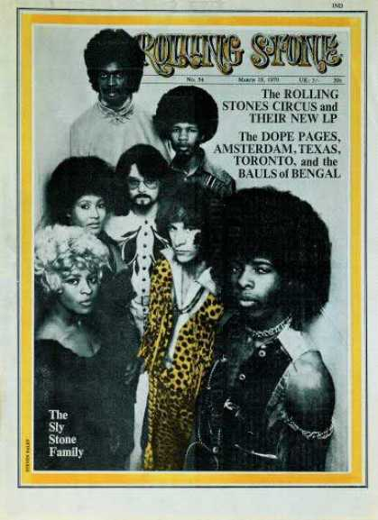 Rolling Stone - Sly & the Family Stone
