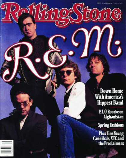 Rolling Stone - REM