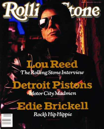 Rolling Stone - Lou Reed