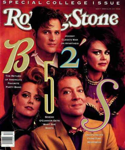 Rolling Stone - B 52s, The