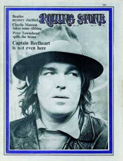 Rolling Stone - Captain Beefheart