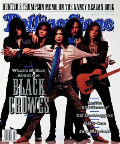 Rolling Stone - Black Crowes