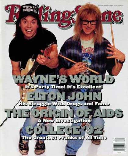 Rolling Stone - Mike Myers & Dana Carvey