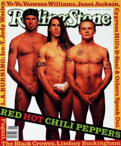 Rolling Stone - Red Hot Chili Peppers