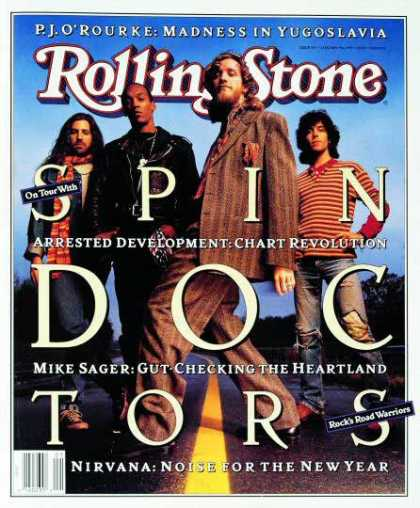 Rolling Stone - Spin Doctors