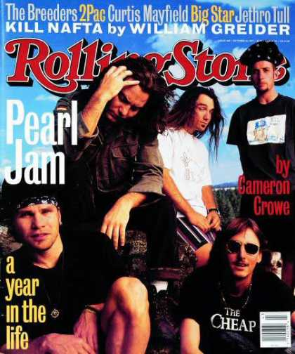 Rolling Stone - Pearl Jam