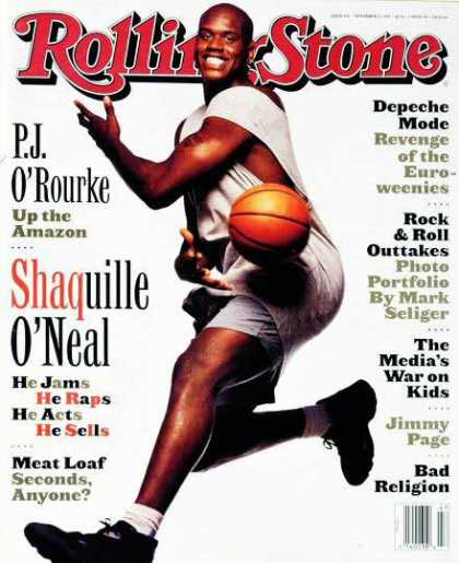 Rolling Stone - Shaquille O'Neal