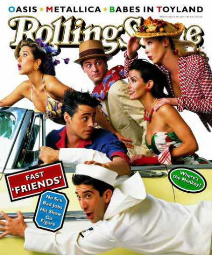 Rolling Stone - Cast of Friends