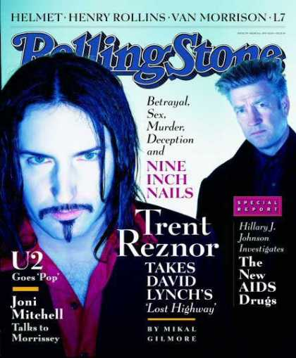 Rolling Stone - Trent Reznor & David Lynch