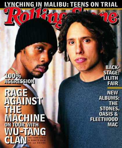 Rolling Stone - Wu-Tang Clan & Rage Against the Machine