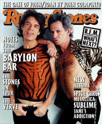 Rolling Stone - Mick Jagger & Keith Richards