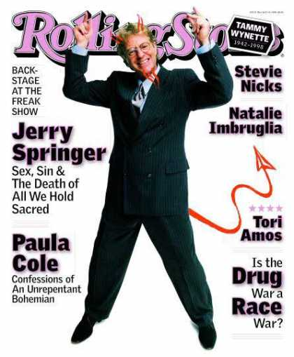 Rolling Stone - Jerry Springer