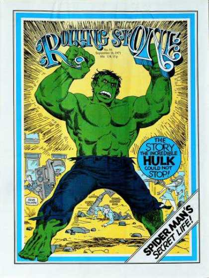 Rolling Stone - Incredible Hulk, The