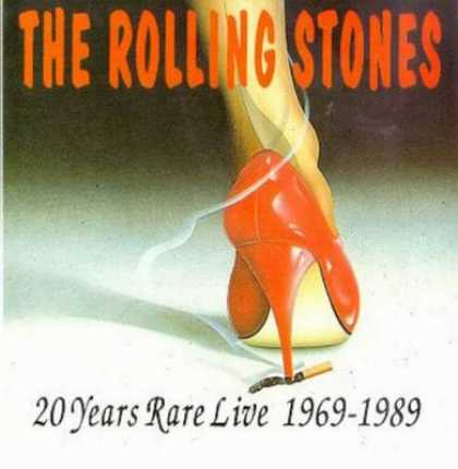 Rolling Stones - Rolling Stones 20 Years Rare Live (1969 -1989)
