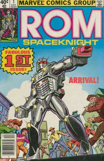 ROM Spaceknight 1