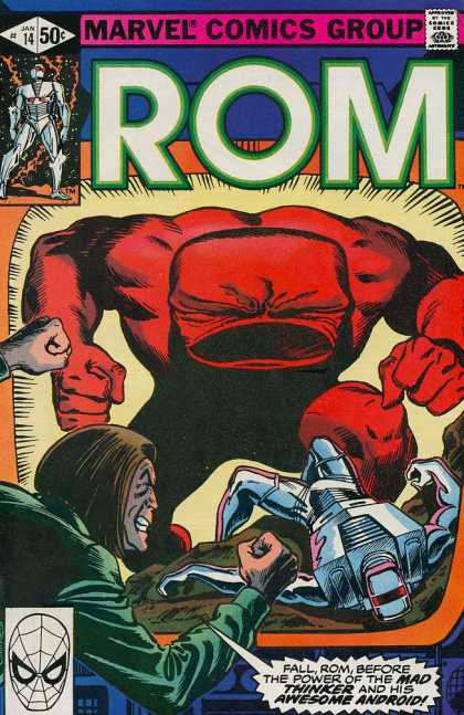 ROM Spaceknight 14 - Marvel - Superhero - Android - Mad Thinker - Spaceknight