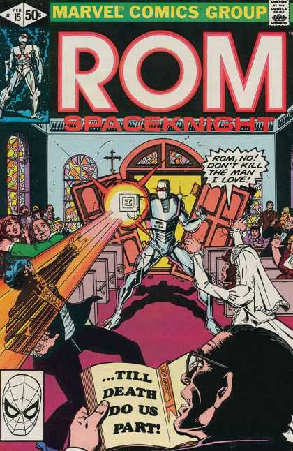 ROM Spaceknight 15 - Wedding Dress - Till Death Do Us Part - Dont Kill The Man I Love - Robot - Broken Doors