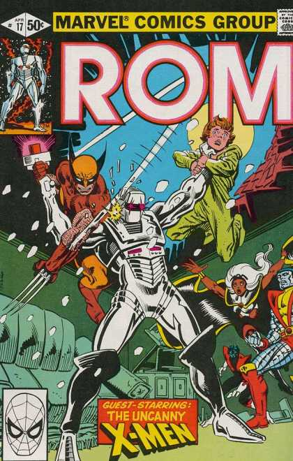 ROM Spaceknight 17