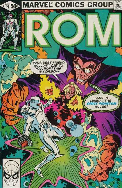 ROM Spaceknight 19