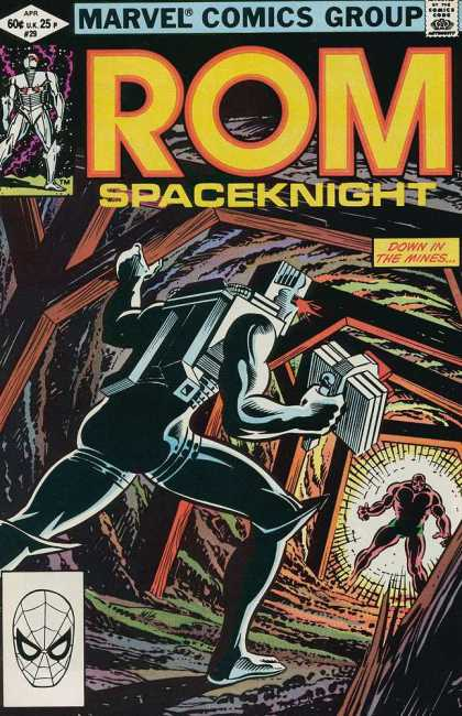 ROM Spaceknight 29 - Marvel - Rom - Spaceknight - April - 29