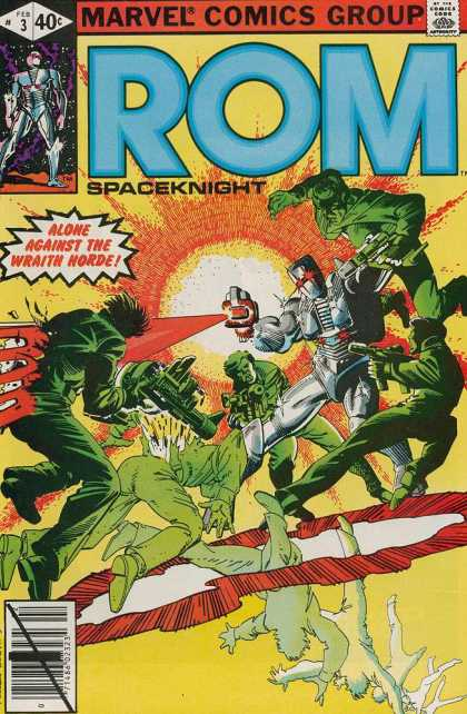 ROM Spaceknight 3