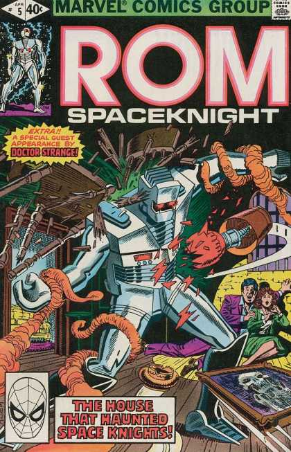 ROM Spaceknight 5 - Marvel Comics - Rom Spaceknight - Spaceknight - Doctor Strange - Haunted House